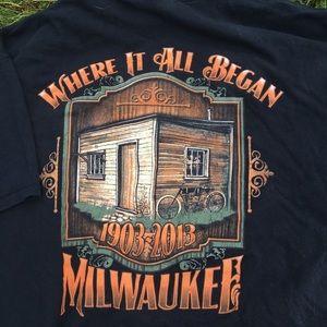 Vintage Men's Milwaukee Bike Rally 2013 2XL TSHIRT
